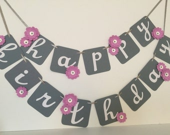 Happy Birthday Banner - Ready to Ship Today