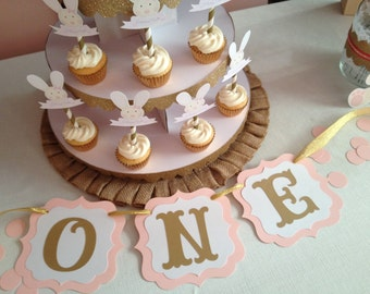 One Banner - High Chair Sign - 1st Birthday Photo Prop