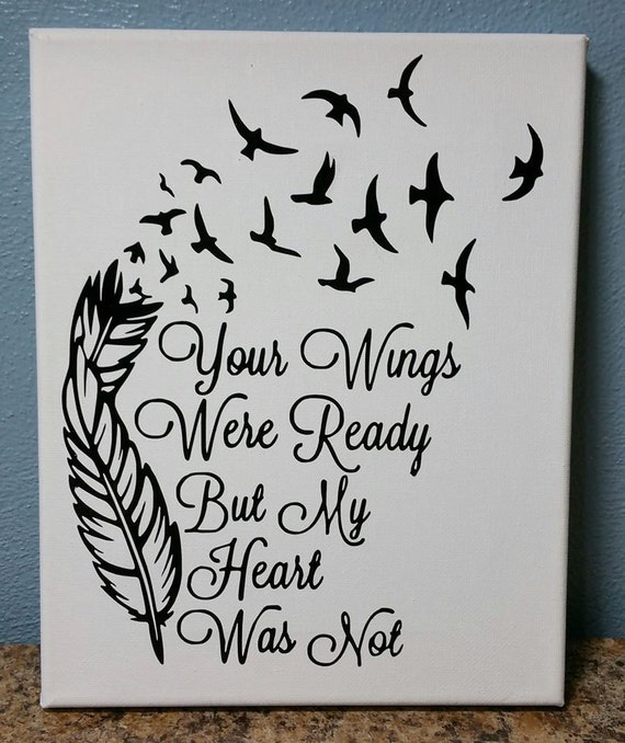 Top your wings were ready but my heart was not images for for Your wings were ready but my heart was not tattoo