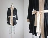 vintage wrap robe