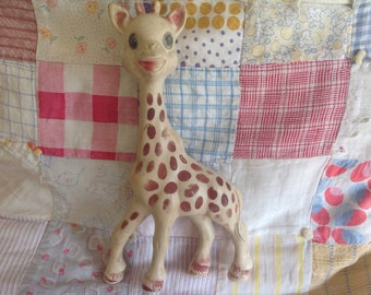 Vintage French Sophie The Giraffe
