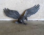Vintage Cast Iron American Eagle Wall Hanging