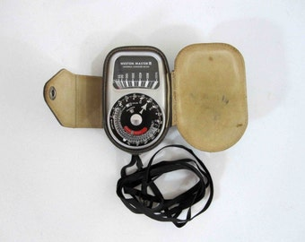 Vintage Weston Master III Photo Exposure Meter. Circa 1950's.