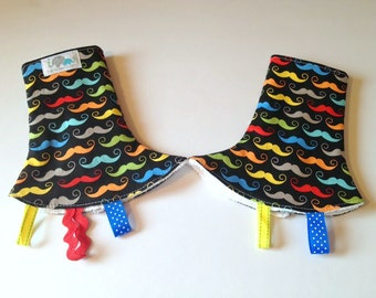 Drool Pad for SSC Carriers | Curved Drool Pads | Regular Drool Pads | You Pick Fabric and Style