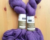 ON SALE Louet Mooi Lace Weight Yarn, Bison, Cashmere, Bamboo, Lavender, Purple, Amethyst