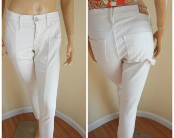 True Religion skinny jeans, painters pants
