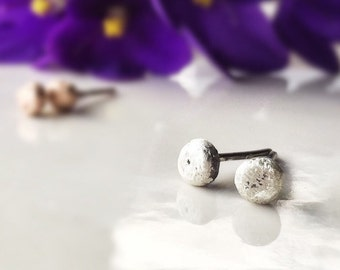 Sterling Silver Earrings - Stud Earrings - Recycled Sterling Silver Posts - Tiny Post Studs -Christmas Gift for Her - Free Shipping