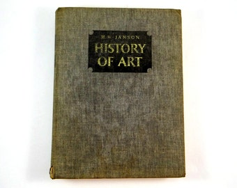 History of Art by H W Janson from 1965