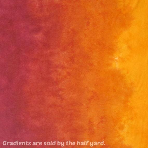 Gradient Hand Dyed Fabric - Sassafras