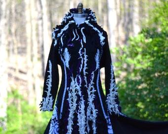Custom Fantasy sweater Coat for Tiffany. 0210