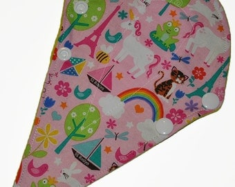 Liner Core- Kitten Town Reusable Cloth Thong Liner Pad- Windpro Fleece- 8 Inches
