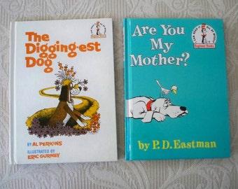 Vintage Books Children's Eastman & Perkins Set of Two I Can Read Beginner Reader
