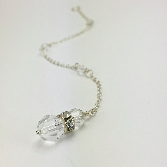 jewelry for low back gown bridal back drop necklace attachment