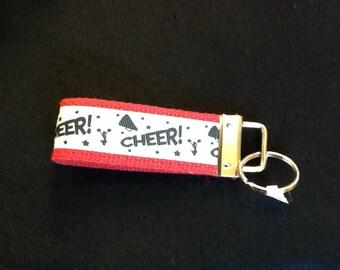 Cheer wristlets/key fob