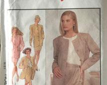 Styke 1968 Sewing Pattern, 8-18, Ladies Jacket and Skirt, 1990's Design