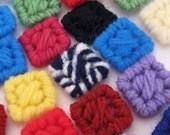Colorful Confetti Squares Party Decor Art Supply