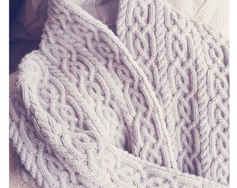 Knit jacket, Hand knitted coat, Womans knitted jackt, Cableknit cardigan, Cozy jacket, FREE shipping, handknit,Made to order!