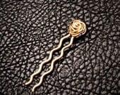 Rose Hair accessories, Bobby pins, Hair pins, wedding accessories,  bridal pins, hair care, tiny hair pins, 1 1/2 inch