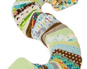 Sale - Sweet Bobbins Cloth Wipes - Set of 30 wipes - OBV and Flannel - 6x8