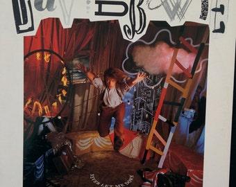 David Bowie Never Let Me Down vinyl lp 1986 eighties rock collectible