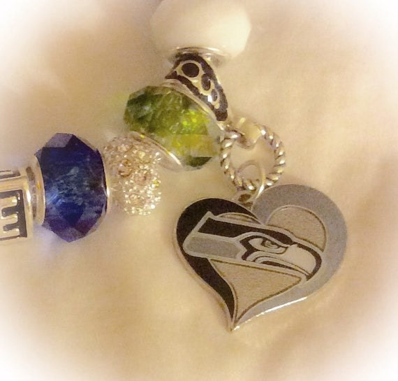 handmade jewelry seattle seattle sea hawks jewelry bracelets handmade by swankee on 6277
