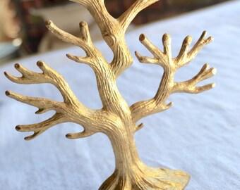 Vintage Jewelry Tree Organizer Stand