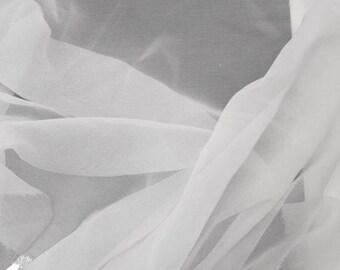 White Silk Gauze 4.5 Momme