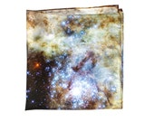 Tarantula Nebula Silk Pocket Square, Handkerchief