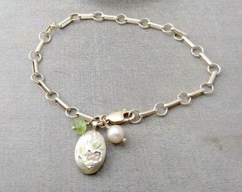 "Shop ""gold locket"" in Bracelets"