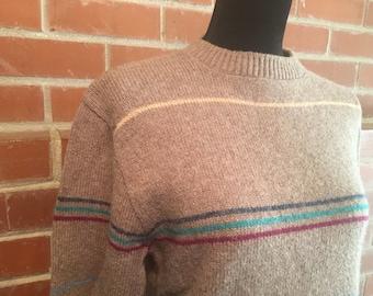 Men's striped Jantzen sweater