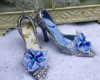 Shabby, French, Victorian, Shoe Ornaments