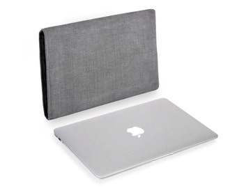 Apple MacBook Pro Touch Bar Natural Linen Charcoal 13 or 15 inch