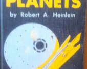RARE 1951 Between Planets Book by Heinlein
