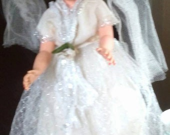 Gorgeous Vintage Allied Bride Doll All Original