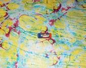 Papier marbrè,   cm 50 X 70  - 881