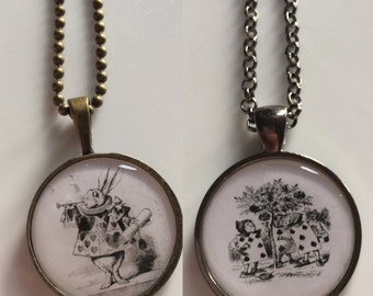 Alice in Wonderland Collection - 3 Necklaces Available