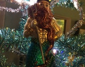 King Neptune ViNtAgEy Mercury Glass Ornament