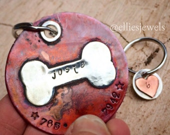 Personalized Pet Tag - Large or Extra Large size