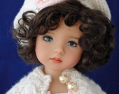 "Dianna Effner 10"" Doll Thursday Child.  All vinyl sculpted in 2005 for Boneka.  Painted by Joyce Mathews Kuwahi Dolls."
