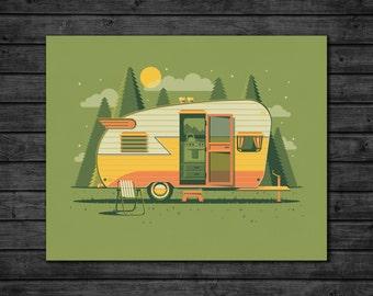 Explorers Club: Sierra Art Print