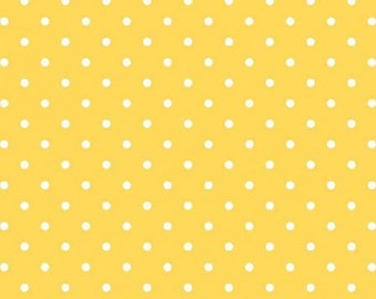 Swiss Dots by Riley Blake Designs Cotton Fabric  C670-50Yellow
