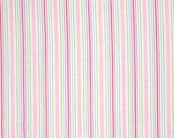 Pink Lulu pwtw0967PINK  Cotton Fabric by Tanya Whelan FreeSpirit Lulu Roses