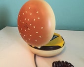 1980s Hamburger Cheeseburger Touch Tone Phone