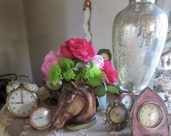Vintage Enesco Horse Vase