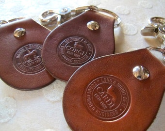 BF Rich Brown Key Fobs - FREE USA Shipping!