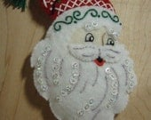 Bucilla Felt NORDIC SANTA CHRISTMAS Ornament  from the Nordic Santa Collection