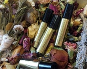 Persian Love Cake Botanical Perfume Oil. Almond, Cardamom, Saffron, Rose, Honey, Vintage Vanilla and Butter.