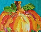 Still life Oil Painting Pumpkin Painting , Oil Painting , Fall Art , Home and Living,