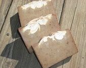 Pumpkin Spice Soap /  Rich Sweet Warm Spicy Scent / Autumn Fall Soap / Clay Soap /  Natural Artisan Soap / Cold Process Handmade Soap