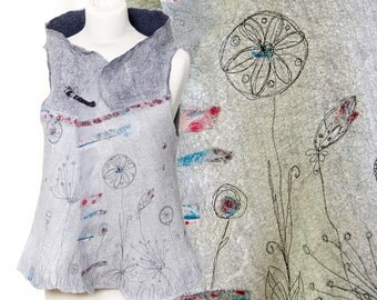 Contemporary textile art rerserved for Valery